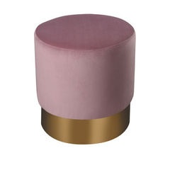 Ella Stool - Dusty Pink