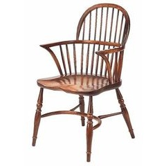 Lowback Windsor Stickback Armchair