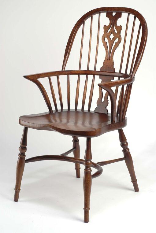 Windsor Georgian Splatback Arm chair: G038 Windsor Georgian Splatback Highback arm
