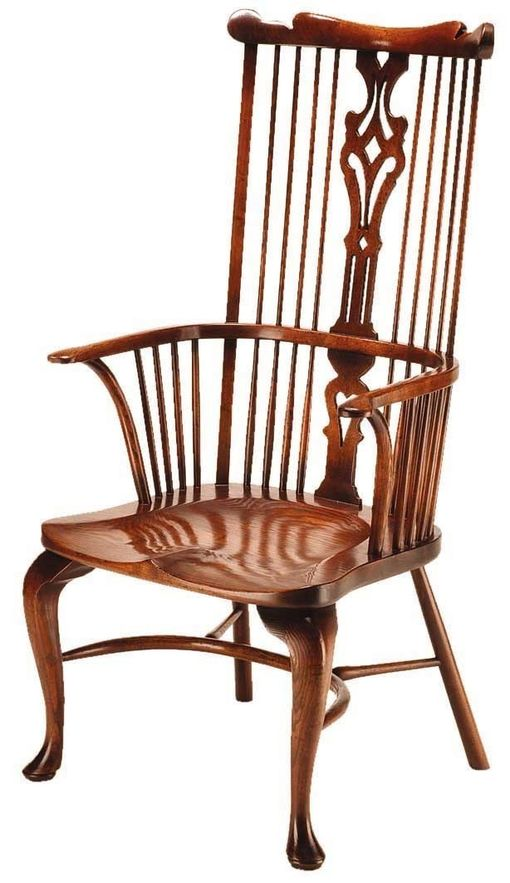 Windsor Lyre Back Arm Chair: G124 Windsor Lyre Back Arm