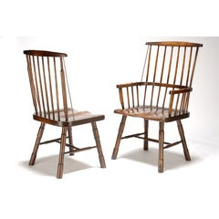 Irish Primitive Windsor chair