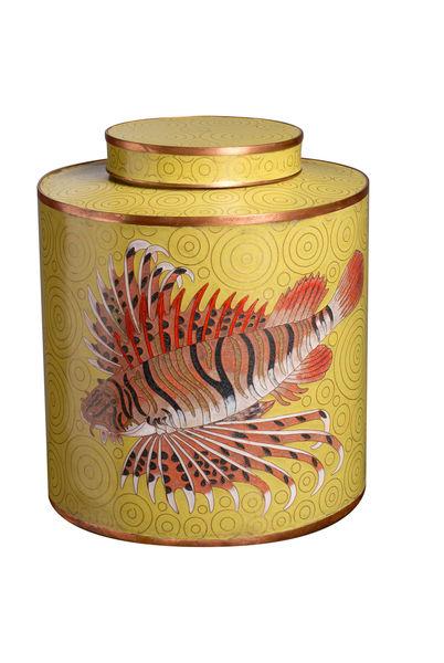 Green Rock Fish Jar