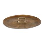 Gilded Metal Tray/Platter
