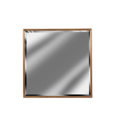 Gold Framed Square Mirror
