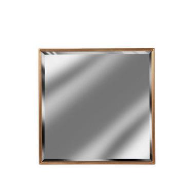 Gold Framed Square Mirror