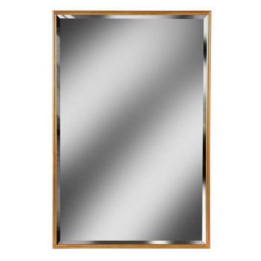 Gold Framed Rectangular Mirror