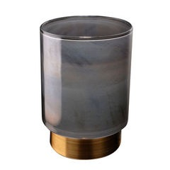 Grey Coloured Candleholder
