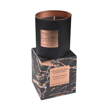 Dark Amber & Vetiver Tumbler Candle