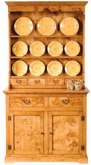 Pippy Oak Dresser and Rack