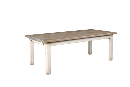 Brittany dining table: Brittany Table with painted base