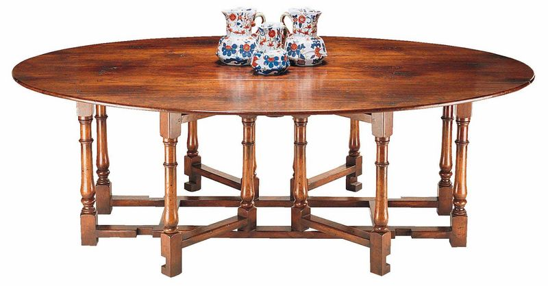 Double gateleg dining table dining tables fauld england for Gateleg dining table