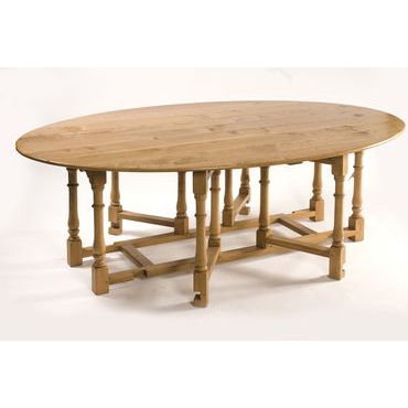 Double gateleg table