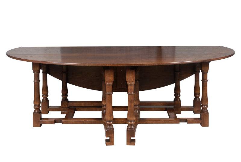 Double gateleg dining table Dining Tables Fauld England