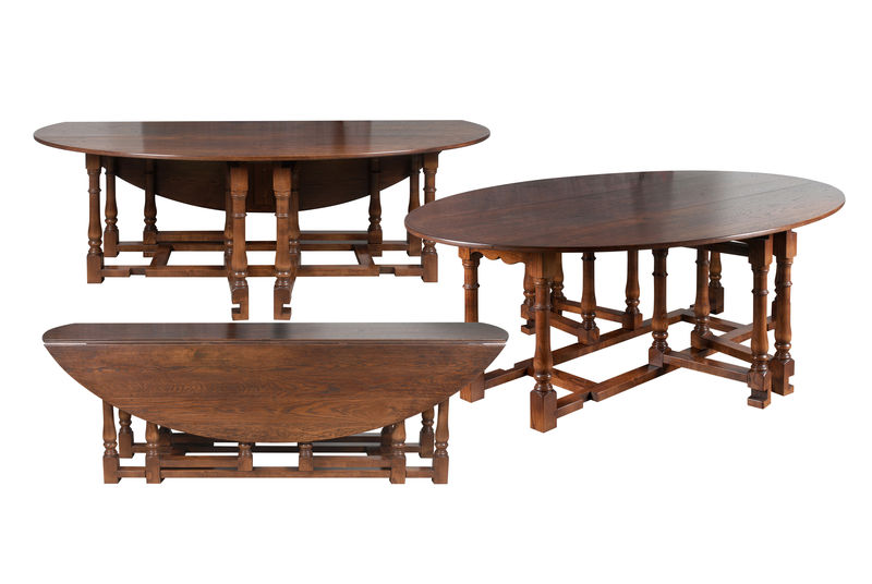 Double gateleg dining table Dining Tables