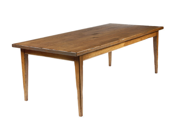 HT221 Primitive dining table - Dining Tables - Fauld England