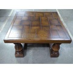 Block Top Coffee Table