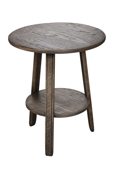 Cider Mill Cricket Table: Shown in London Grey scrubbed finish
