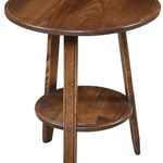 Cider Mill Cricket Table: Shown in ash with Medium Oak colour