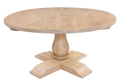 Round Extending Balustrade Table