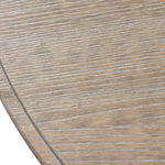 Cider Mill Cricket Table with Y Stretcher: Scrubbed top detail