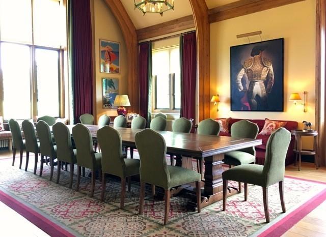 Shooting Lodge Extending Table