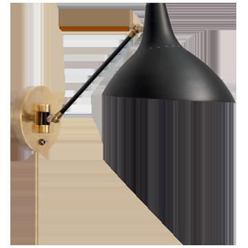 Charlton Wall Light (Black)