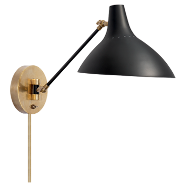 Charlton Wall Light (Black)