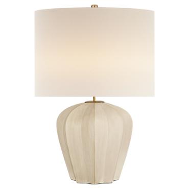 Pierrepont Medium Table Lamp in stone white