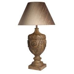 Swag Pedestal Lamp