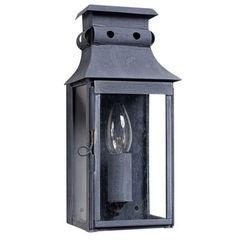 Petite Zinc Wall Lantern