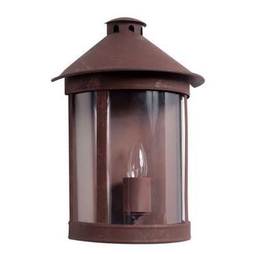 Half Round Wall Lantern