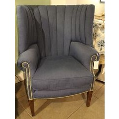 Turner chair with fluted back