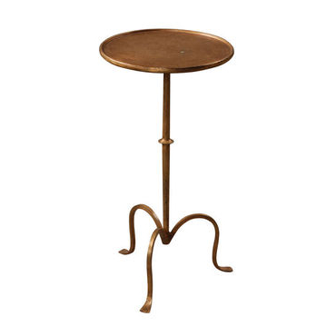 Martini Table - Gold Leaf