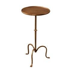 Martini Table - Gold Leaf