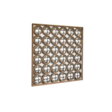 Gold Facets Mirror