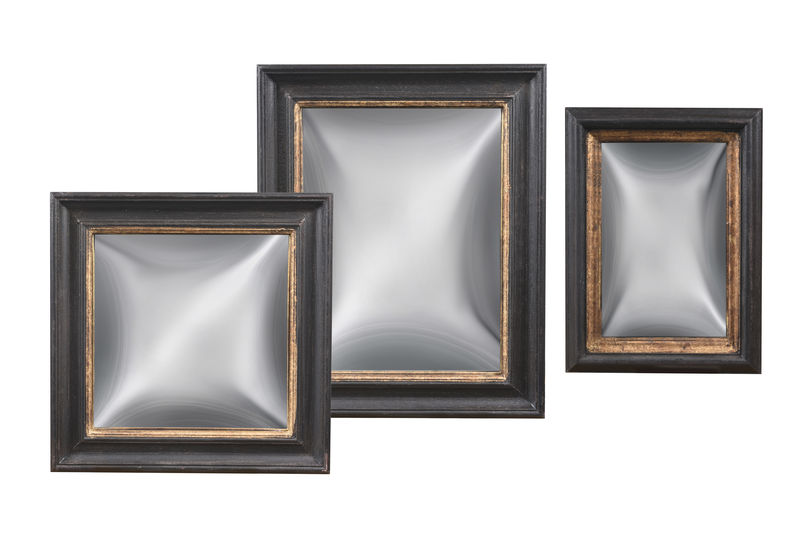 Set of 3 Convex Mirrors