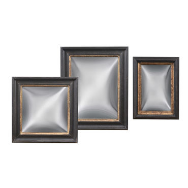 Set of 3 Convex Mirrors