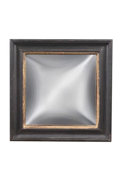 Set of 3 Convex Mirrors: Square mirror