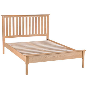 "4ft 6"" Slatted Bed"
