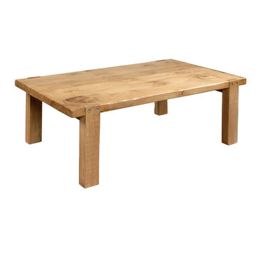 Pippy oak Coffee Table with thick top