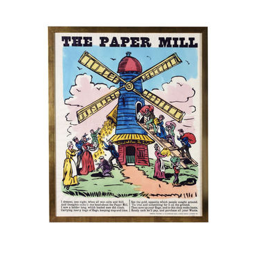 The Paper Mill Framed picture