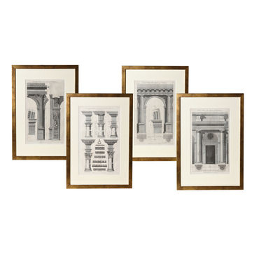Set of 6 Architectural Prints