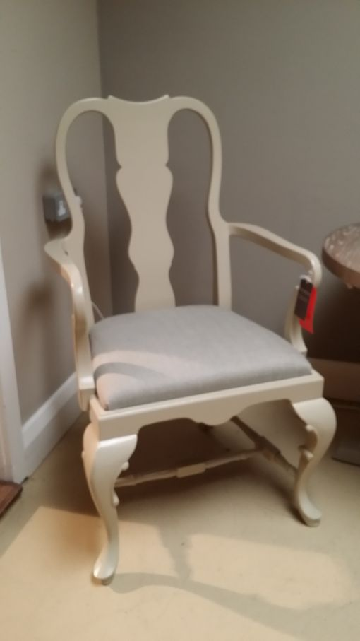Pair of Queen Anne Arm Chairs