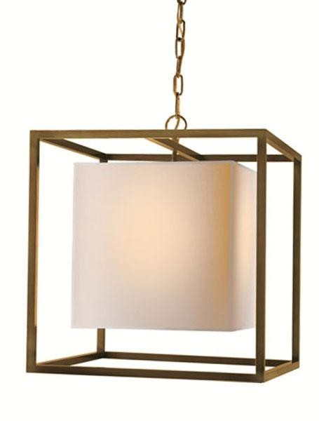Square Caged Lantern