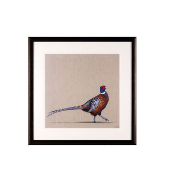 Framed Pheasant Picture