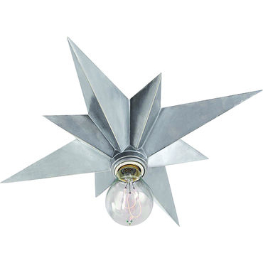 Star Flush Mount (Antique silver)