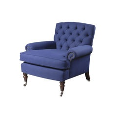 Stubbs armchair - buttoned back
