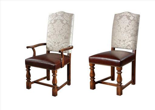 Elizabethan Tuscany leg Upholstered Chair