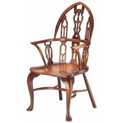 Gothic Splatback Windsor Chair