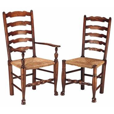 Wavyline Ladderback Chair